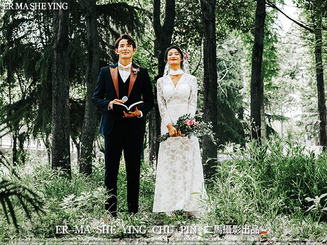 森系婚礼仪式感